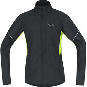 GORE WEAR R3 Partial Gore Windstopper - Chaqueta Running Hombre - negro